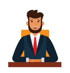 chairman-board-cartoon-flat-vector-18202966